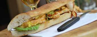 Recipe: Sweet Chilli Chicken Baguette