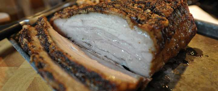 Recipe: Roast Belly Pork with Asian Spices