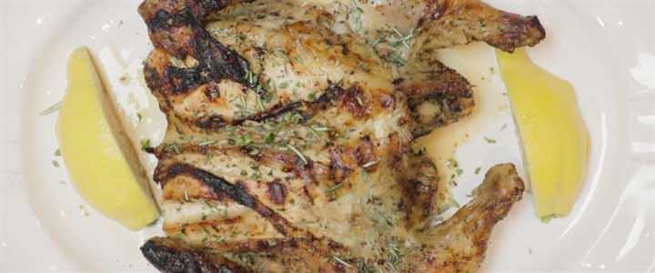 Whole, Marinated, Spatchcock Chicken Recipe