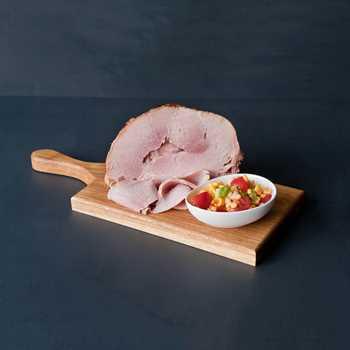 Baked Cheshire Ham - sliced