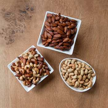 Smoked Nut Sampler