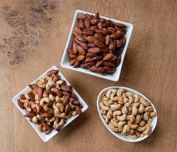 Smoked Nut Sampler