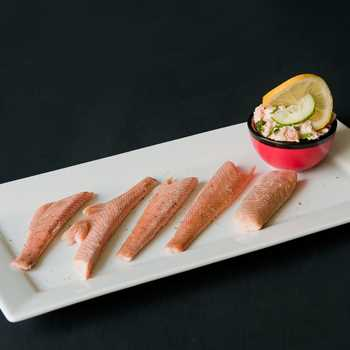 Smoked Wincle trout